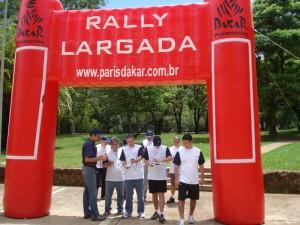 Largada do Rally