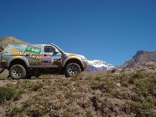 Na travessia dos Andes, volta para Argentina foi mais tranquila, segundo Klever. Foto: Vitor Sendra