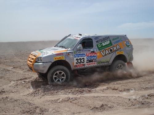 Novos trechos de areia trarão novo desafio na parte final do Dakar. Foto: Vitor Sendra