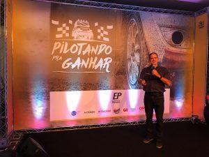 Palestra Motivacional do piloto e engenheiro Klever Kolberg para a EPTV