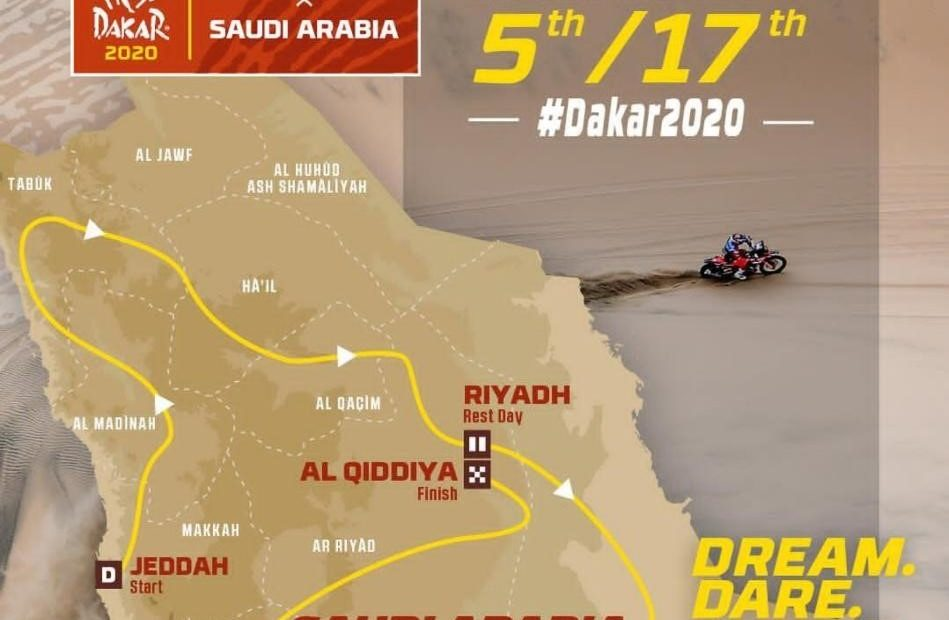 Rally Dakar 2020 - Roteiro