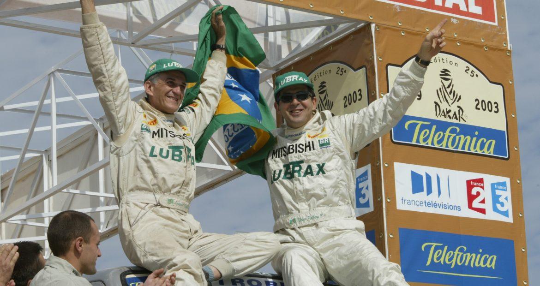 Palestra de Klever Kolberg, piloto do Rally Dakar, sobre a importancia da equipe