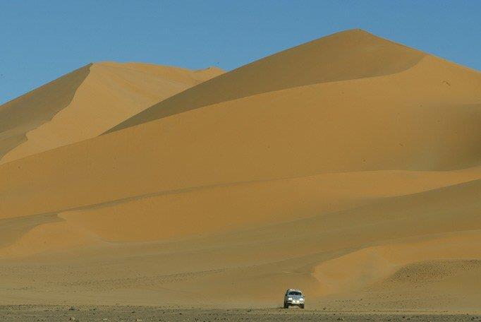 Muita convicção é necessária para atravessar o deserto no Rally Dakar